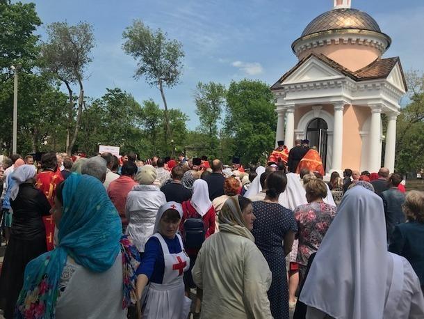 Митрополит Ростовский и Новочеркасский Меркурий освятил Николаевскую часовню