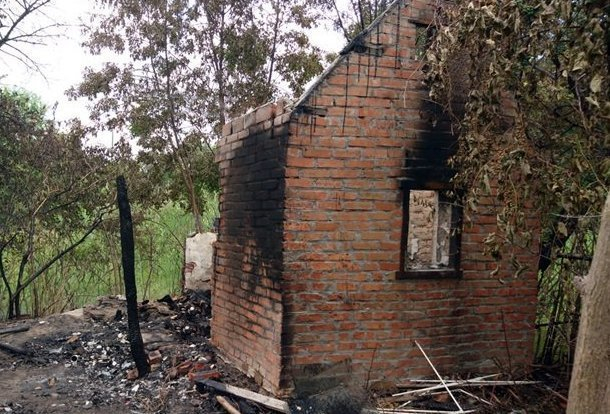 Пострадавшая при пожаре в заброшенном доме на Донском скончалась в больнице