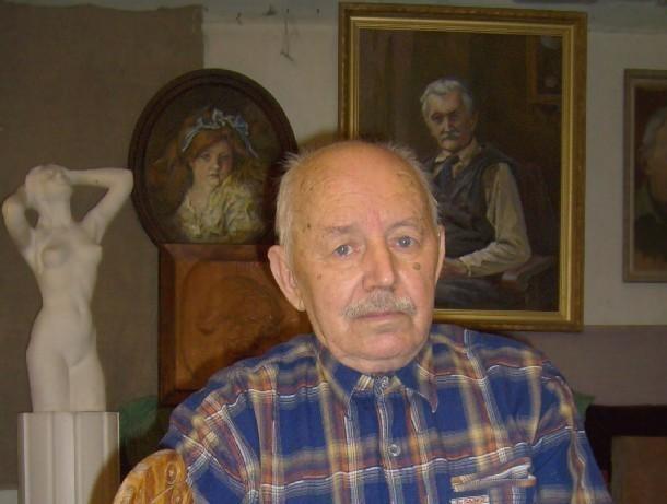 Выставка 87-летнего известного художника Льва Елисеева открылась в новочеркасском музее