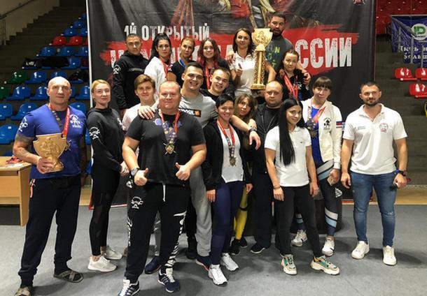 Команда пауэрлифтеров из Новочеркасска выиграла открытый чемпионат России по версии WUAP