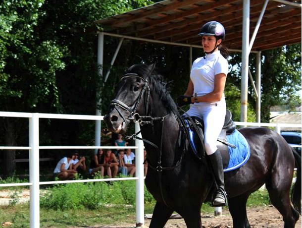 Новочеркасские конницы со своими верными друзьями Дон Олеоном и Кингстоном завоевали охапку наград