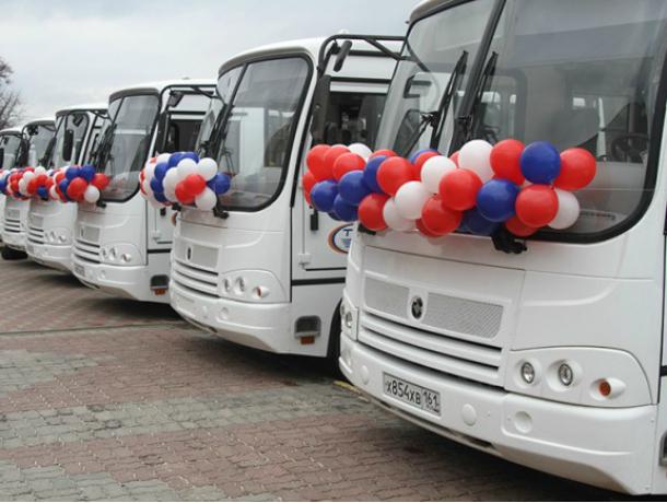 19 новых автобусов будут колесить по улицам Новочеркасска