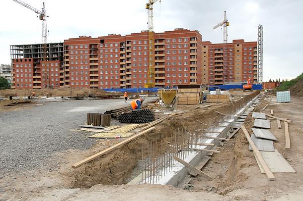 В Новочеркасске продолжается строительство школы в микрорайоне Восточном