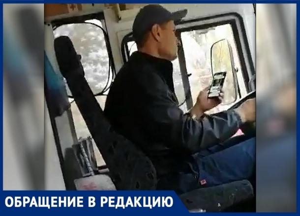 «В одной руке руль, в другой – телефон», - новочеркасцы