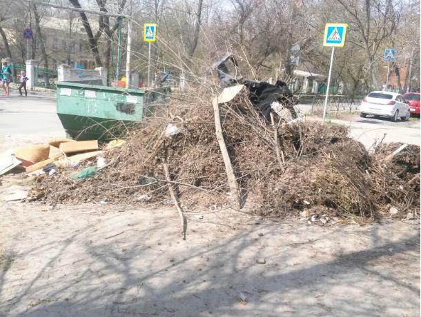 Огромные мусорные кучи растут как грибы в Новочеркасске