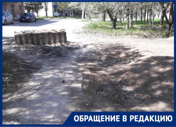 «Не дорога, а развалины!»: жители микрорайона Донской недовольны состоянием дорог и тротуаров