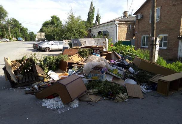 Мусорный город или пешком по Новочеркасску