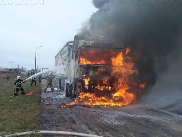 ВРостовской области шофёр фургона устроил ДТП
