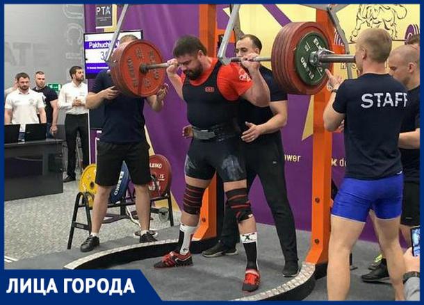 Пауэрлифтер из Новочеркасска стал Заслуженным тренером России