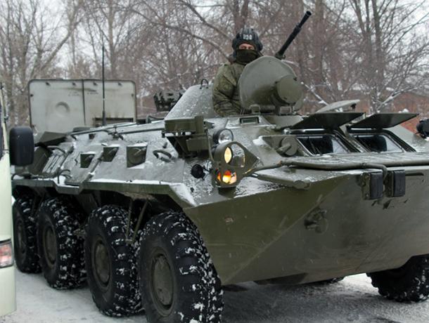 Выставка военной техники и вооружений пройдет в Новочеркасске 25 февраля