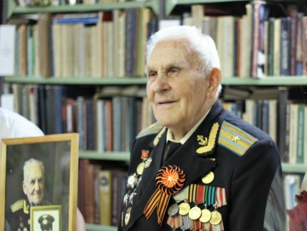 Участник Парада Победы, новочеркасец  Николай Ямченко отметил юбилей