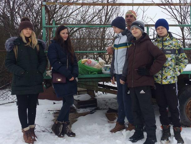 Эстафету помощи бездомным собакам подхватили ученики 7-го лицея Новочеркасска