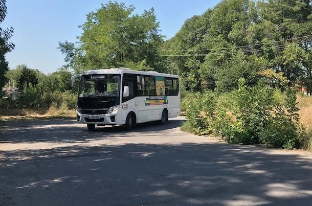В Новочеркасске исчезли автобусы большой вместимости маршрута № 1
