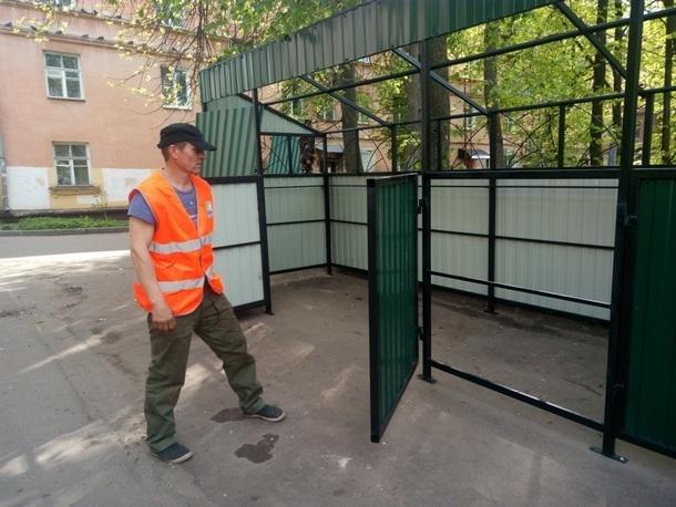В Новочеркасске установят новые контейнерные площадки для мусора
