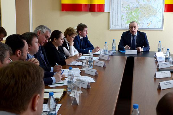 Сергей Сидаш посетил Новочеркасск с рабочим визитом