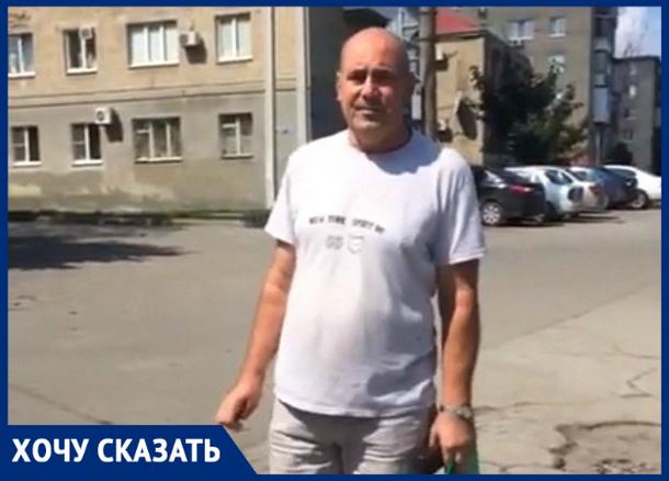 «45 лет ждем ремонта дороги на улице Щорса», - Федор Лишафаев