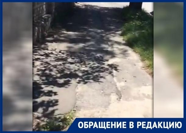 """«Улица Пушкинская напоминает """"американские горки""""», - новочеркасцы"""
