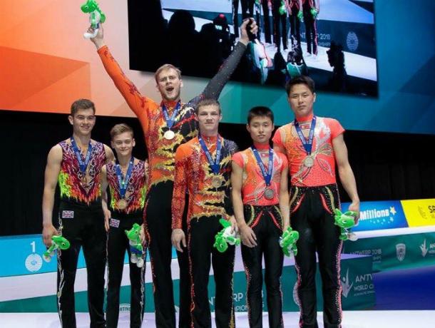 Новочеркасцы Николай Супрунов и Александр Сорокин одержали победы на чемпионате мира по акробатике