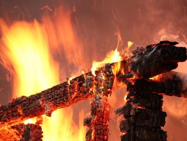 Мужчина сгорел в частном доме под Новочеркасском