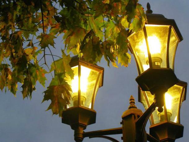 10 фонарей в переулке Широком обойдется Новочеркасску почти в 200 тысяч рублей
