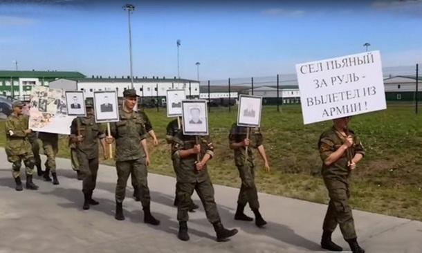 Под Новочеркасском военнослужащие «похоронили» разбитую машину