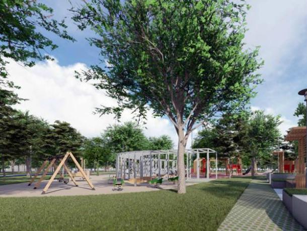 Благоустройство парка в микрорайоне Октябрьском обойдется Новочеркасску на 24 миллиона дешевле