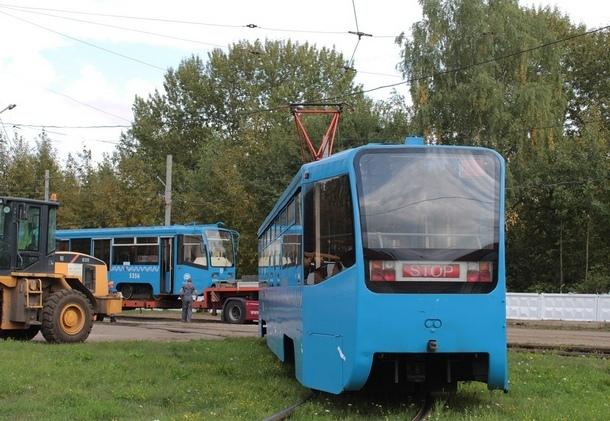 Подаренные Москвой трамваи приедут в Новочеркасск в середине ноября