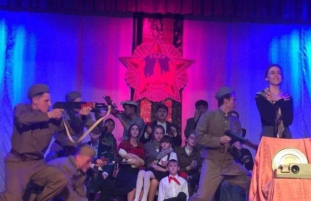 «На Берлин!»: в Новочеркасске прошел конкурс инсценированной песни
