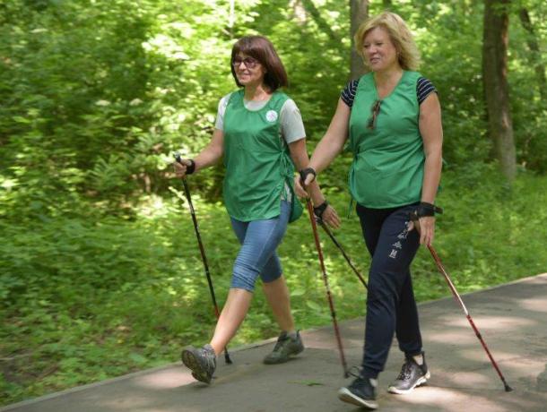 Всемирный день скандинавской ходьбы отметили в Новочеркасске