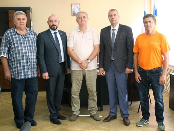 В Новочеркасск приехали гости из Сербии