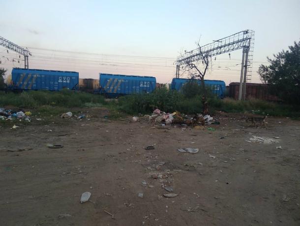 Жители улицы Железнодорожной мечтают о контейнерах для ТБО