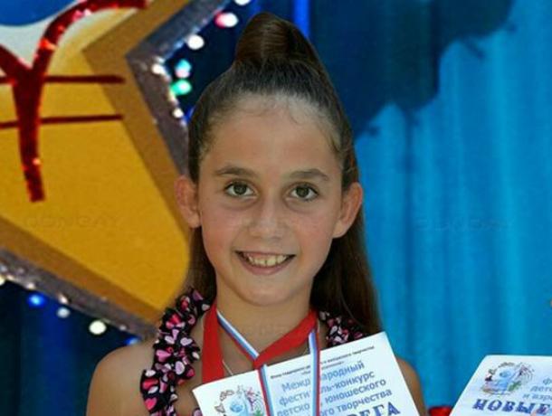 Юная вокалистка из Новочеркасска одержала очередные ошеломительные победы