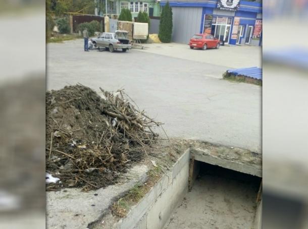В Новочеркасске проверили работу ливнестоков