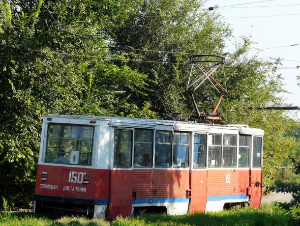 В Новочеркасске остановлено движение трамвая по маршруту №1