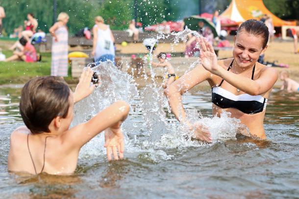 В Новочеркасск снова вернулись жаркие дни
