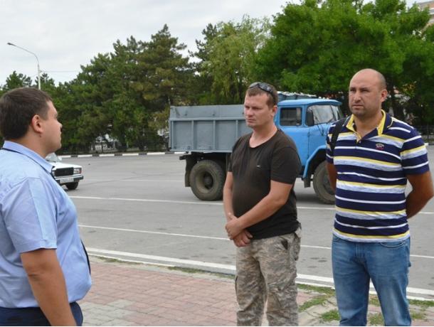 Муниципальная инспекция Новочеркасска наказала организаторов свалки на улице Красина