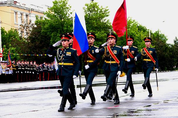 В Новочеркасске завершился Парад Победы