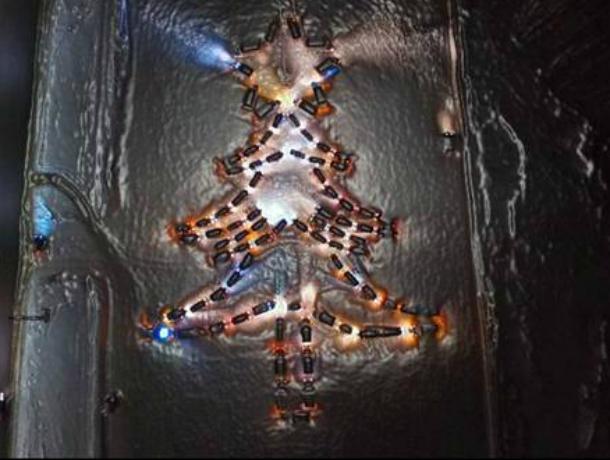Возле «Ленты» в Новочеркасске соберут гигантскую новогоднюю елку из автомобилей
