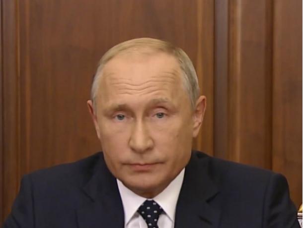 Новочеркасский политик назвал телеобращение Путина о пенсионной реформе запланированным трюком
