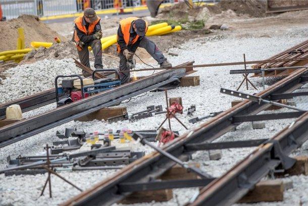 В Новочеркасске продолжают поиски подрядчика на ремонт трамвайных путей по второму маршруту