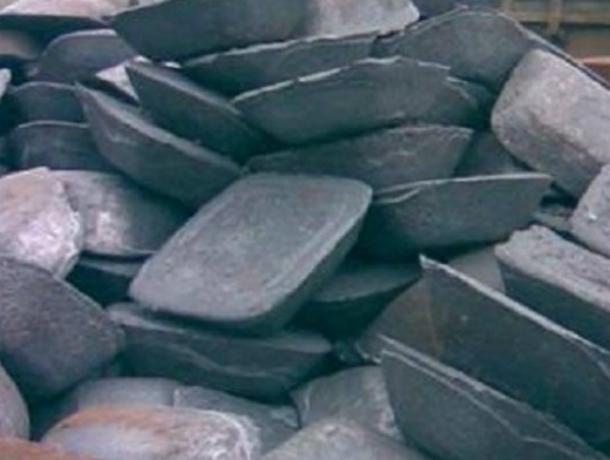 36 чугунных слитков уволокла сжелезной дороги жительница Новочеркасска