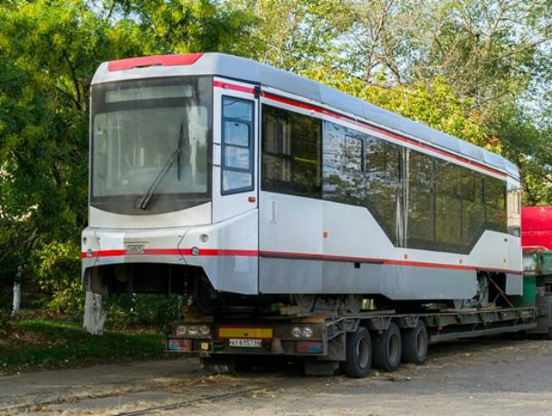 Еще два новых трамвая прибыли в Новочеркасск
