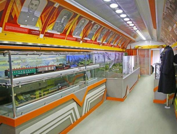 Поезд-музей проедет недалеко от Новочеркасска
