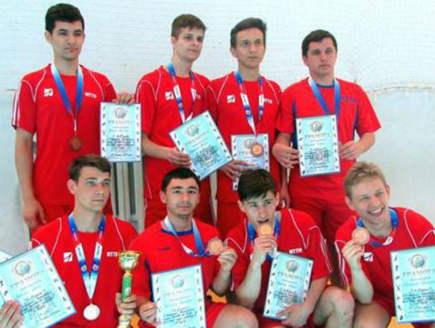 Новочеркасская волейбольная команда стала третьей на чемпионате Ростова среди инвалидов