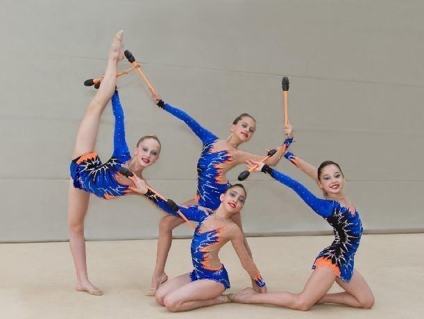 Новочеркасские художественные гимнастки завоевали три медали на открытом чемпионате Батайска