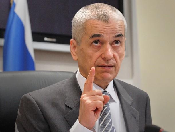 Депутат Госдумы Геннадий Онищенко порекомендовал жителям Новочеркасска быть более внимательными к еде