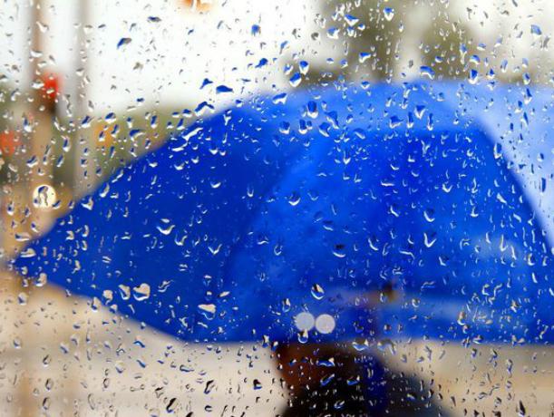 Ближайший уик-энд в Новочеркасске станет дождливым и пасмурным