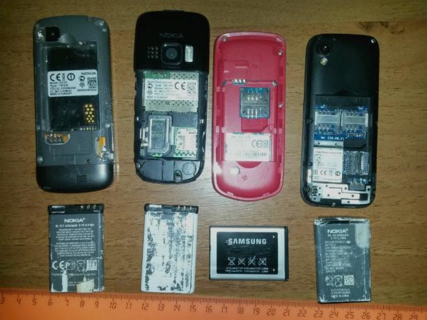 Засутки вколонии Ростовской области пытались передать 25 мобильных телефонов