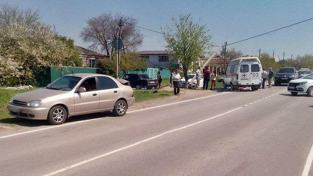 Под Новочеркасском произошло тройное ДТП с пострадавшими