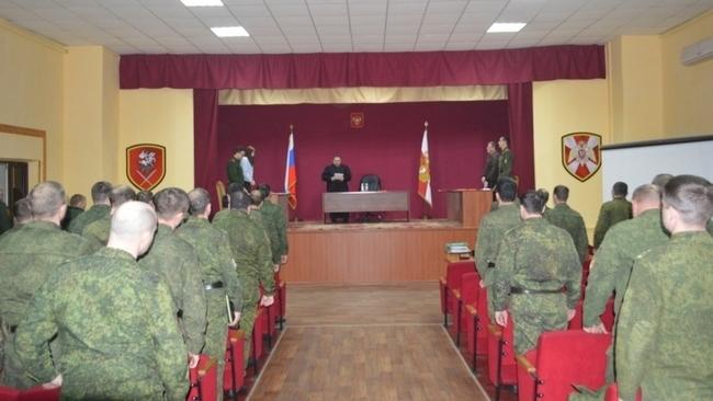 Двое военнослужащих из Новочеркасска сядут в тюрьму за прогулы